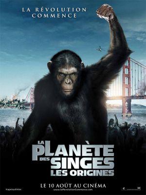 La Planète des singes : les origines - critique