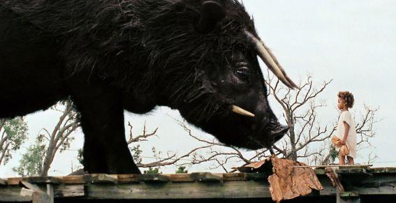Dans Les Bêtes du sud sauvage, les personnages choisissent la marginalisation  mais ils ne peuvent rien contre les éléments