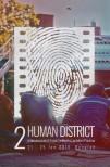 2016-06-22 Affiche étroite Human District Festival