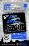 2016-06-25 Affiche Snake Alley Festival of Film